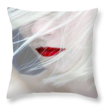 Haunted Dreams Throw Pillow by Jeremy Martinson