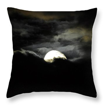 Haunting Horizon Throw Pillow