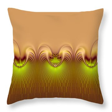 Haute Couture Throw Pillow by Wendy J St Christopher