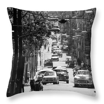 Havana 25c Throw Pillow by Andrew Fare