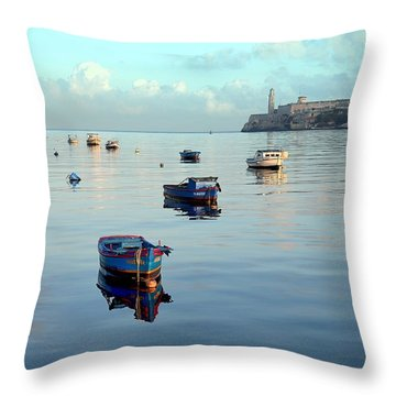 Havana Maritime 2 Throw Pillow