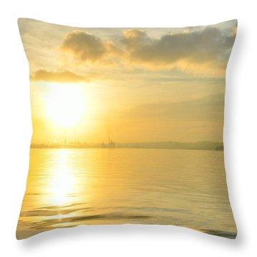 Havana Sunrise Throw Pillow