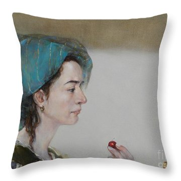 Have A Cherry Throw Pillow