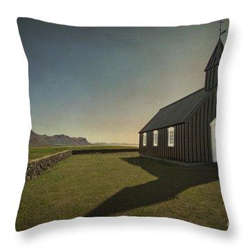 Have A Little Faith Throw Pillow by Evelina Kremsdorf