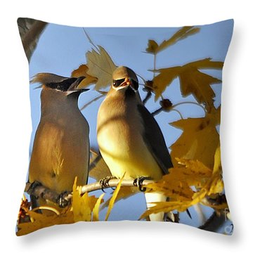 It Is Now Or Never Throw Pillow