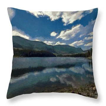 Haviland Lake Throw Pillow