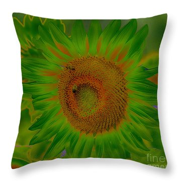 Having Fun With Color Throw Pillow