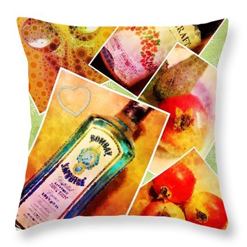 Having Nothing To Do In The Hotel Room Series. Throw Pillow by Mary Machare