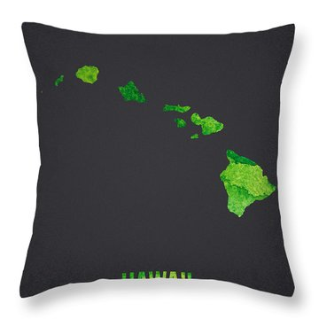 Hawaii The Islands Of Aloha Throw Pillow