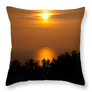 Throw Pillow featuring the photograph Hawaiian Dream by Sabine Edrissi