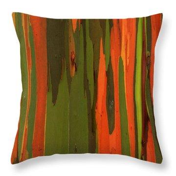 Hawaiian Eucalyptus Throw Pillow by James Eddy