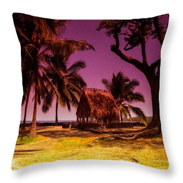 Hawaiian Jail Throw Pillow