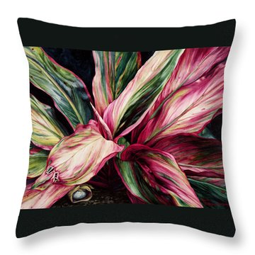 Hawaiian Prayer Throw Pillow