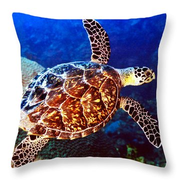 Hawksbill Throw Pillow