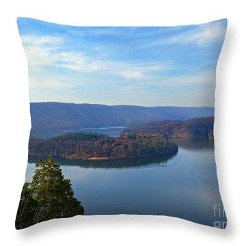 Hawn's Overlook Throw Pillow