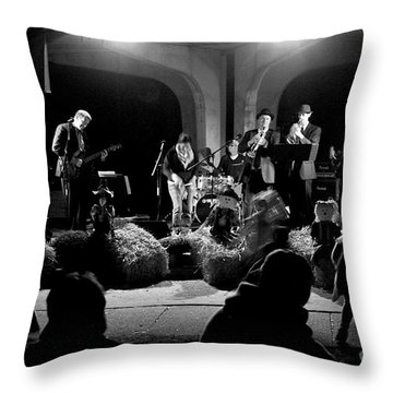 Hay Dance Throw Pillow