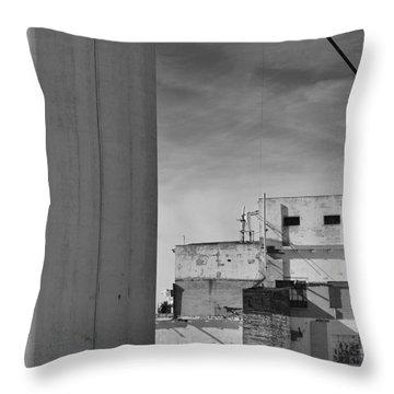 Hayden Ferry Flour Mill 07 Throw Pillow
