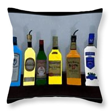 Hazy Memories... Throw Pillow