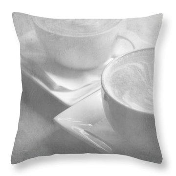 Hazy Morning Moments 2 Throw Pillow by Lisa Parrish