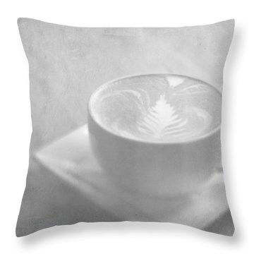 Throw Pillow featuring the photograph Hazy Morning Moments by Lisa Parrish