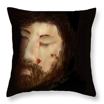 He Became Sin For Me That I Might Become The Righteousness Of God In Him Throw Pillow