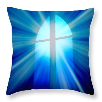 He Is Risen Throw Pillow