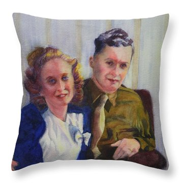 He Touched Me Throw Pillow