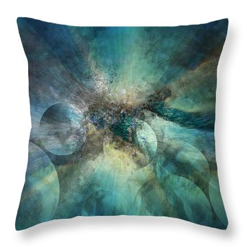 He Will Lead Us To The Light Throw Pillow