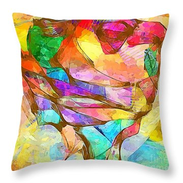 Head  0371 Marucii Throw Pillow