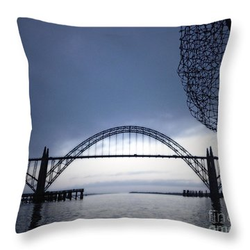 Heading Out Throw Pillow by Gwyn Newcombe
