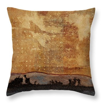 Heading West Throw Pillow