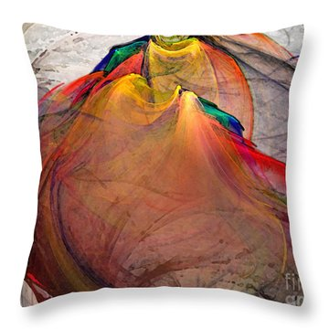 Headless-abstract Art Throw Pillow