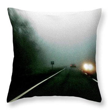 Headlights Throw Pillow