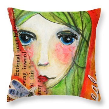 Heal Throw Pillow
