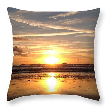 Throw Pillow featuring the photograph Healing Angel by LeeAnn Kendall