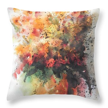 Healing Throw Pillow by Chrisann Ellis