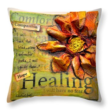 Healing From Isaiah 42 Throw Pillow