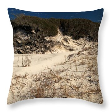 Healthy Dunes Throw Pillow by Adam Jewell