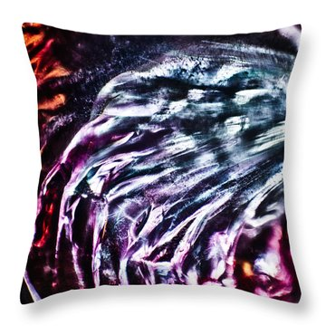 Hear Me Now Throw Pillow by Omaste Witkowski