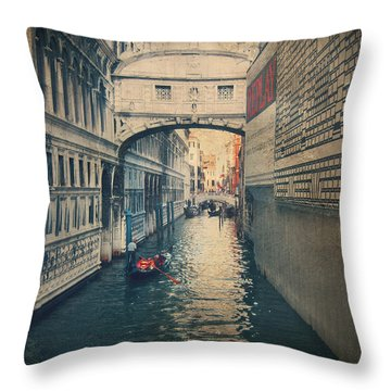 Hear The Sighs Throw Pillow by Laurie Search