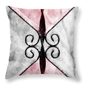 Heart 2 Heart Throw Pillow by Andee Design