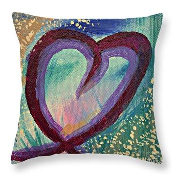 Heart 3 Throw Pillow