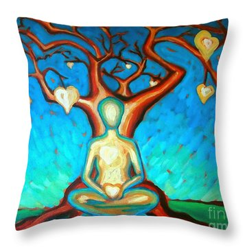 Heart And Soul Throw Pillow