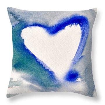 Heart And Soul Throw Pillow by Kimberly Maxwell Grantier