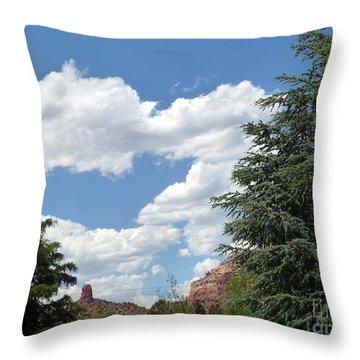 Heart Cloud Sedona Cpd Throw Pillow