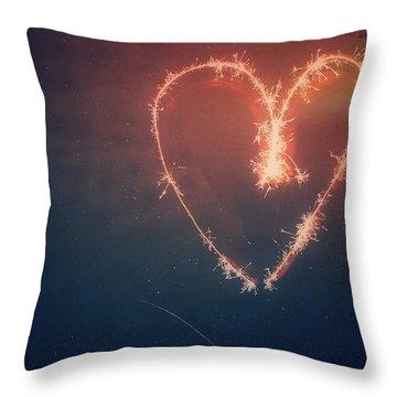 Heart Throw Pillow by Daniel Precht
