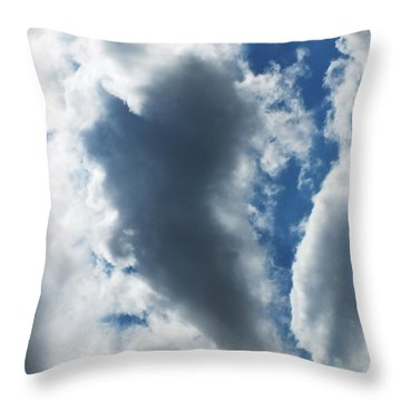 Heart I Throw Pillow by Anna Villarreal Garbis