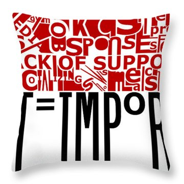 Heart Important Throw Pillow