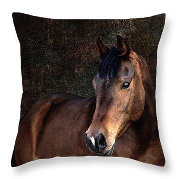 Throw Pillow featuring the photograph Heart by Karen Slagle