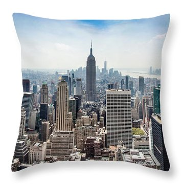 Heart Of An Empire Throw Pillow